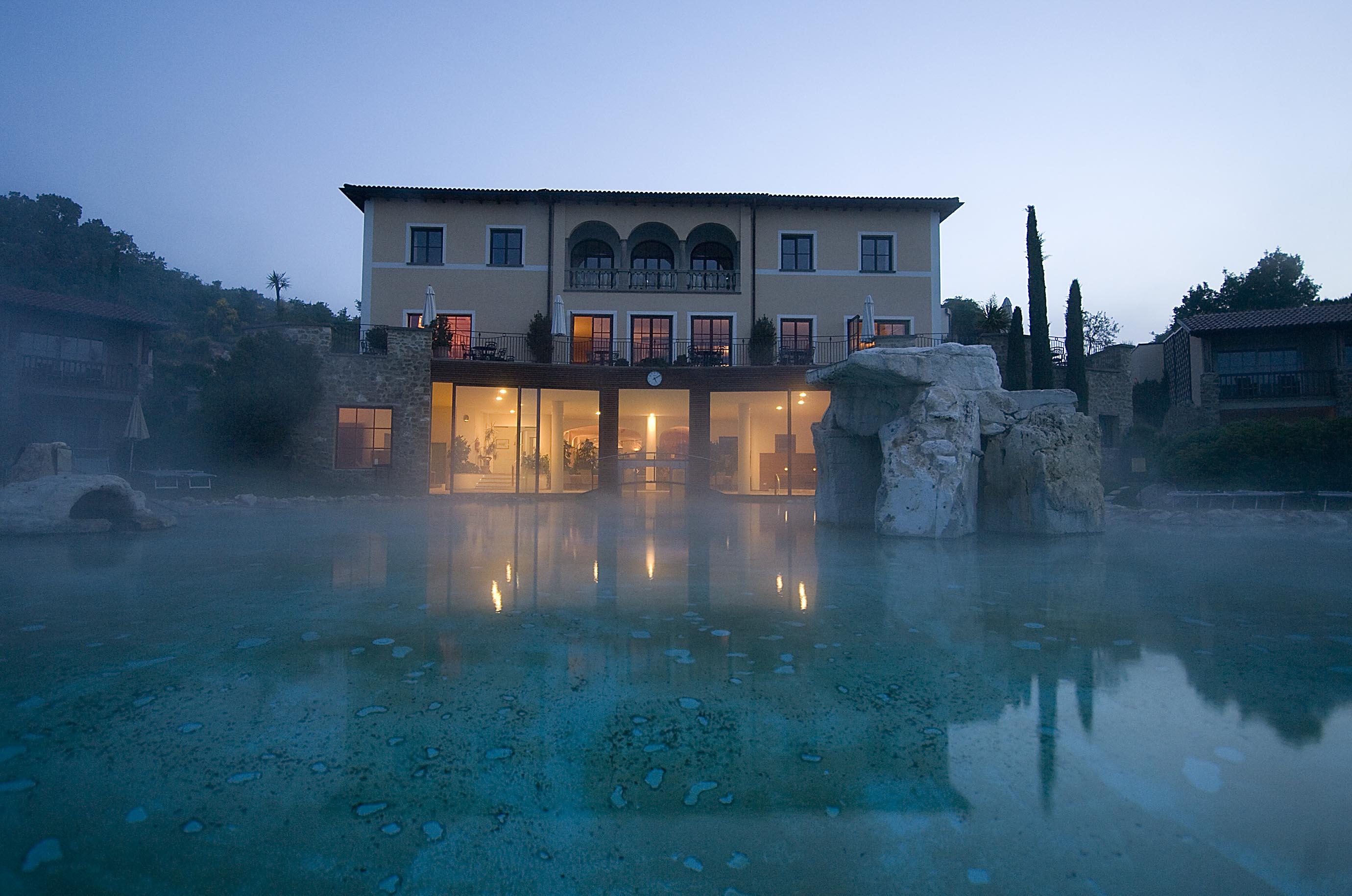 Adler Thermae Hotel, Bagno Vignoni, Tuscany, Italy - Palamedes PR