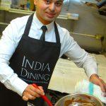 India Dining chocolate egg