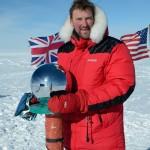 Sir Matthew Pinsent at the North Pole