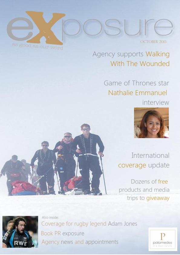 eXposure magazine Palamedes PR
