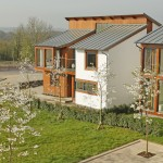 The Woodlands development at Brynna, South Wales