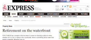 Property PR in the Daily Express