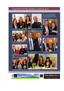 Society coverage in Monmouthshire County Life