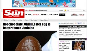 Hottest Easter Egg The Sun