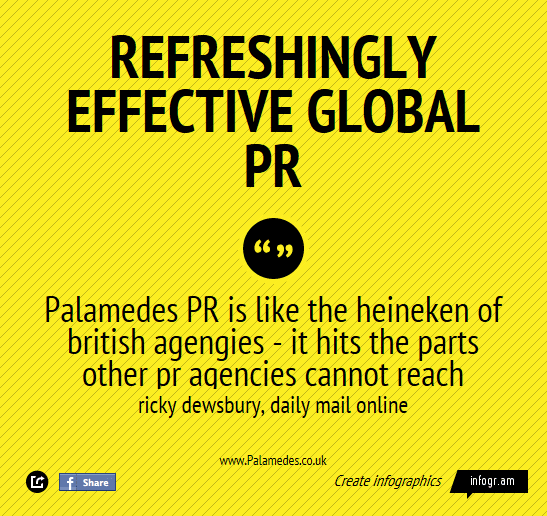 "Palamedes PR's newly revamped website ""better reflects"" the agency's achievements"