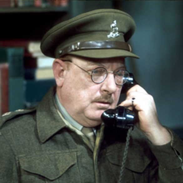 Dad's Army Star Arthur Lowe who features in the BBC Audiobook Mr Men series