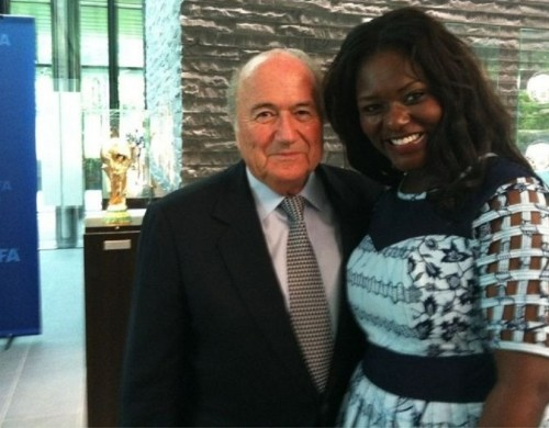 A variety of politicians, celebrities and other high-profile stars have lent their support to the GUBA Awards. They include Tony and Cherie Blair, Dianne Abbott MP, FIFA President Sepp Blatter (pictured), actor Hugh Quarshie and -- most recently -- Adam Afriyie MP.