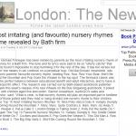 B2C PR, Palamedes PR secures coverage in London News