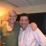 Mick Blight of Palamedes PR with Terry Alderton