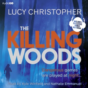 Lucy Christopher, the author The Killing Woods, is the guest of honour at today's AudioGO Library Day in Bath, Somerset