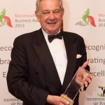 Judges Choice winner - Peter Mills from Wynndel Propery Management with their award at the Monmouthshire Business Awards Friday 11th October 2013 - The St. Pierre Suite, St. Pierre Hotel and Country Club