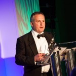 Guest Award Presenter - Hywel James at the Monmouthshire Business Awards Friday 11th October 2013 - The St. Pierre Suite, St. Pierre Hotel and Country Club