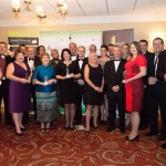 All of the winners with their awards at the Monmouthshire Business Awards Friday 11th October 2013 - The St. Pierre Suite, St. Pierre Hotel and Country Club