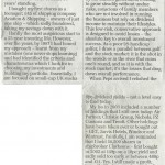The book PR agency Palamedes PR secures hard copy coverage for FT Publishing in the Daily Telegraph
