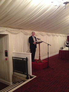 Lord Lee of Trafford hosting the VIP book launch of his new investment guide at the House of Lords