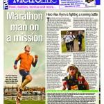 7Days, the Dubai newspaper, runs an article about the British adventurer and endurance athlete Alex Flynn