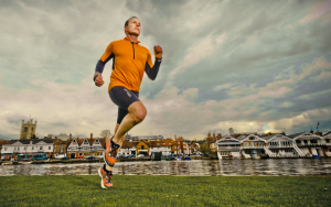 The ultra-endurance athlete, Alex Flynn