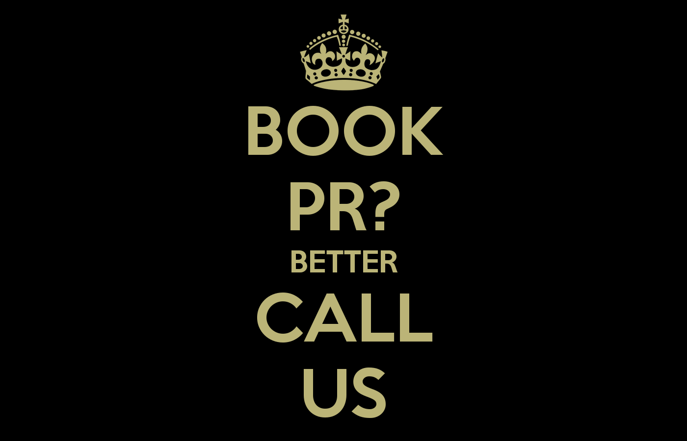 book pr examples