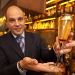 The 'Gigi', a new cocktail which retails for £8,888and is the worlds most expensive. It has been developed for the opening of 'Gigi's', a new Italian restaurant in Mayfair. It is made from Sugar, armagnac samalens 1888 and 1990 Cristal champagne.