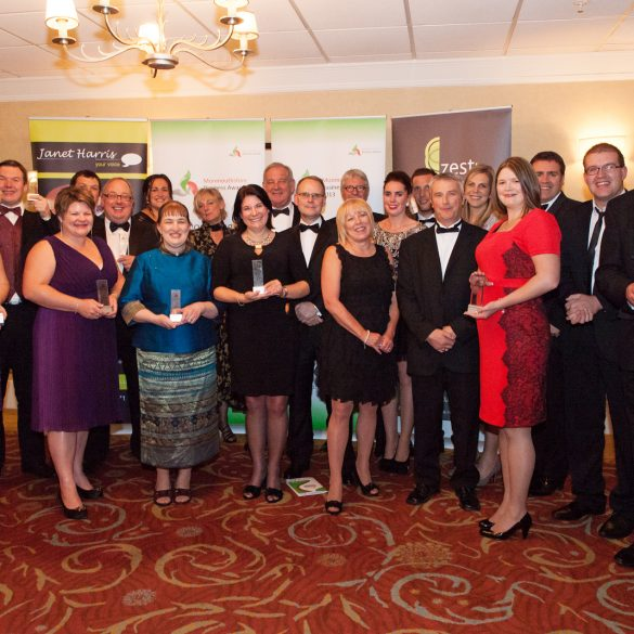 The Winners at the Monmouthshire Business Awards and Gala Dinner - Friday 11th October 2013 - The St. Pierre Suite, St. Pierre Hotel and Country Club