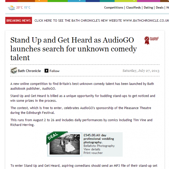 AudioGO-Bath-Chronicle-Comedy-contest