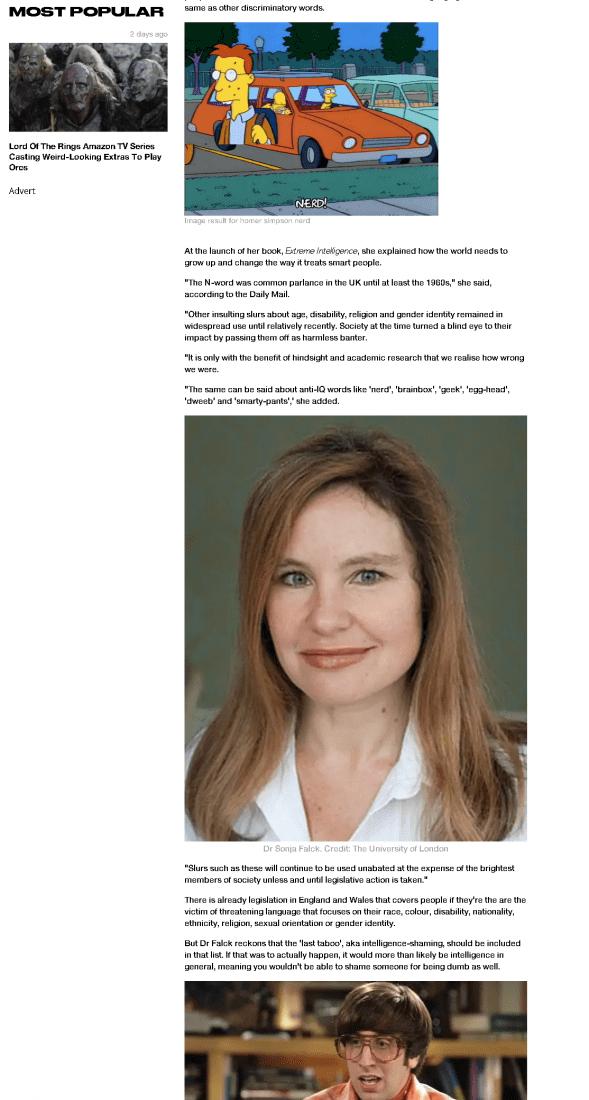 Dr Sonja Falck LADbible