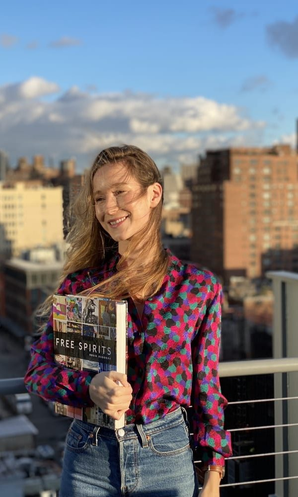 Author Rosie Osborne recently held a book launch for her new title, Free Spirits, at the Miles McEnery Gallery in New York