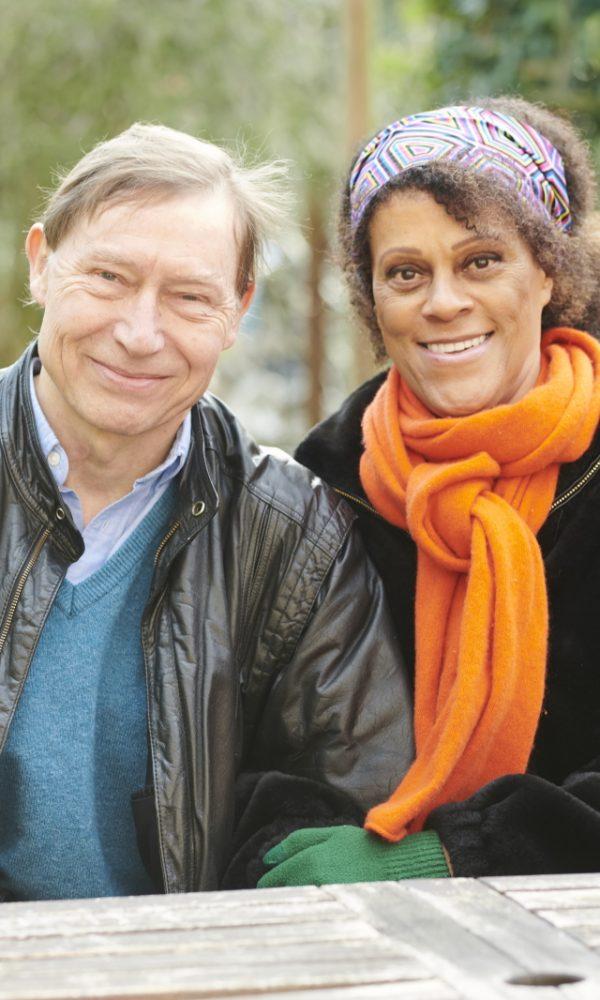 David Shannon and Bernardine Evaristo OBE. Photo credit_ Paul Stuart