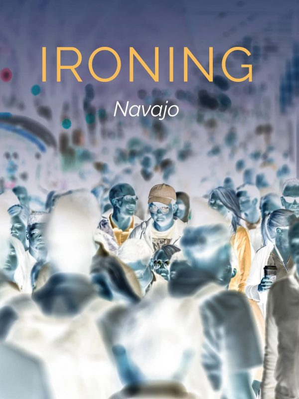 Ironing front cover