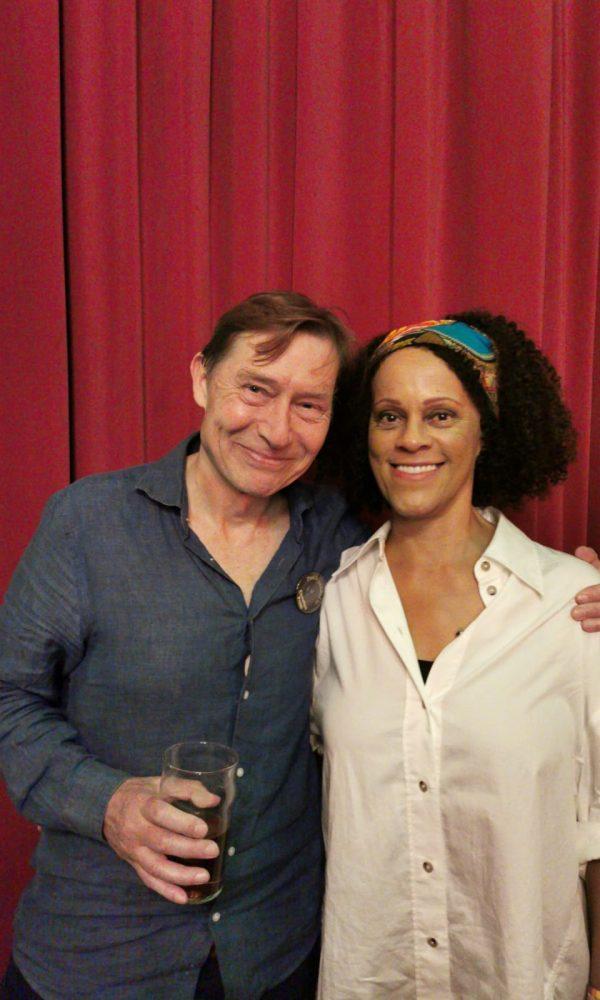 David Shannon and Bernardine Evaristo